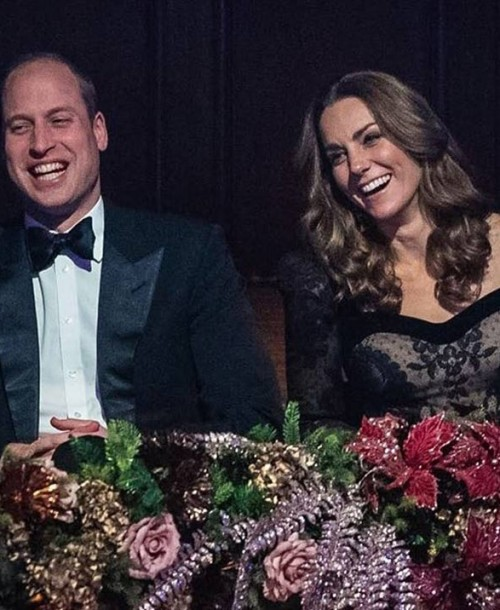 La elegancia de Kate Middleton en la Royal Variety Performance