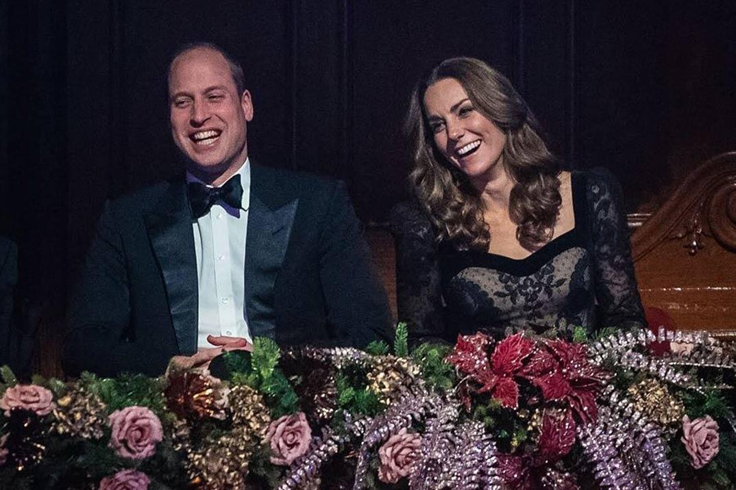 La elegancia de Kate Middleton en la Royal Variety Performance