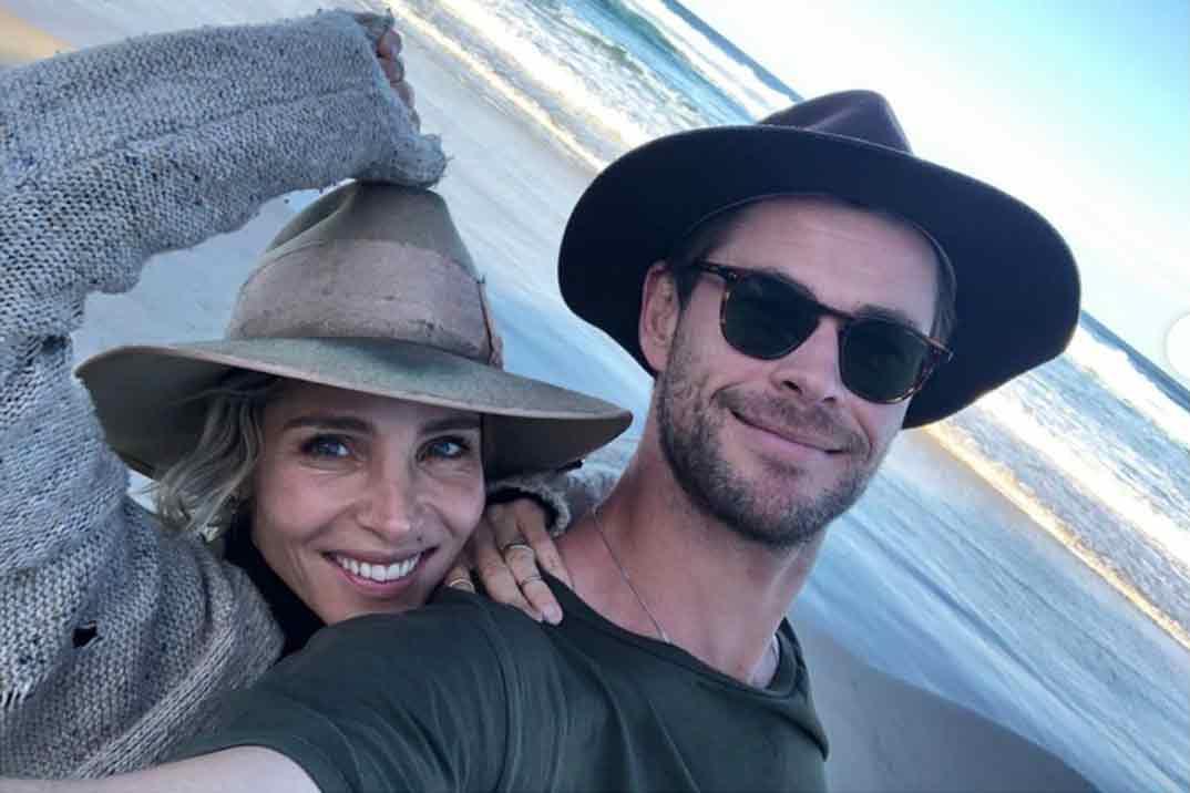Los planes en familia de Chris Hemsworth y Elsa Pataky para los días de lluvia