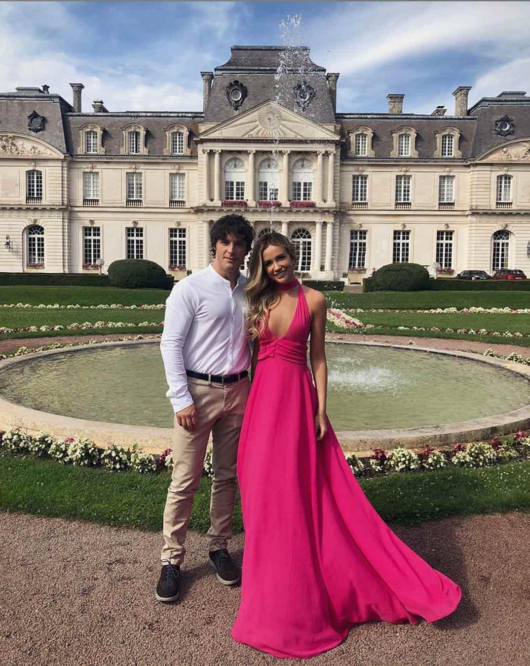 Jordi Cruz y Rebecca Lima © Instagram