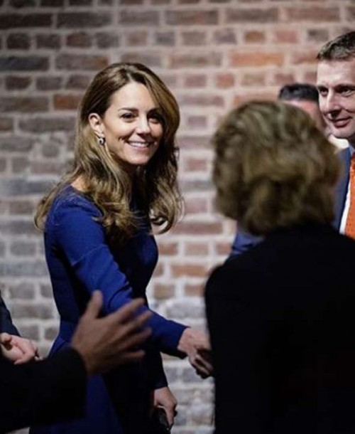Kate Middleton siempre fiel a su estilo New Look