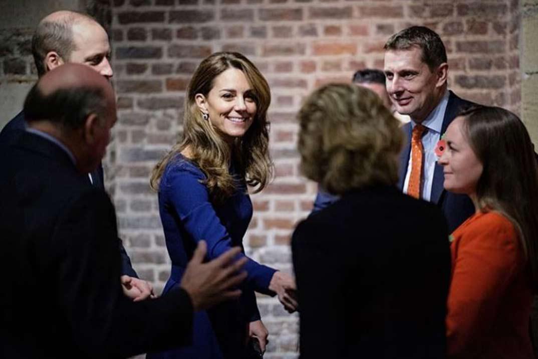 Kate Middleton siempre fiel a su estilo New Look