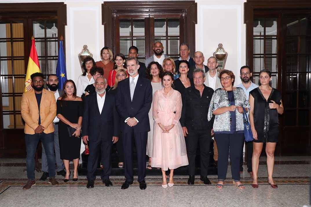 Reyes Felipe y Letizia - Viaje oficial a Cuba © Casa S.M. El Rey