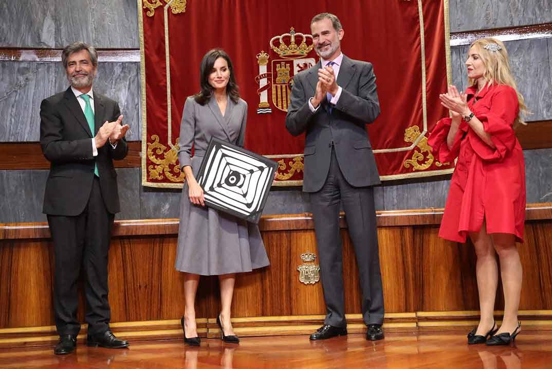 Reyes Felipe y Letizia © Casa S.M. El Rey
