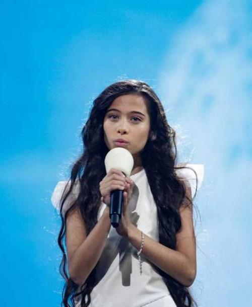 Melani triunfa con la tercera posición en Eurovisión Junior 2019