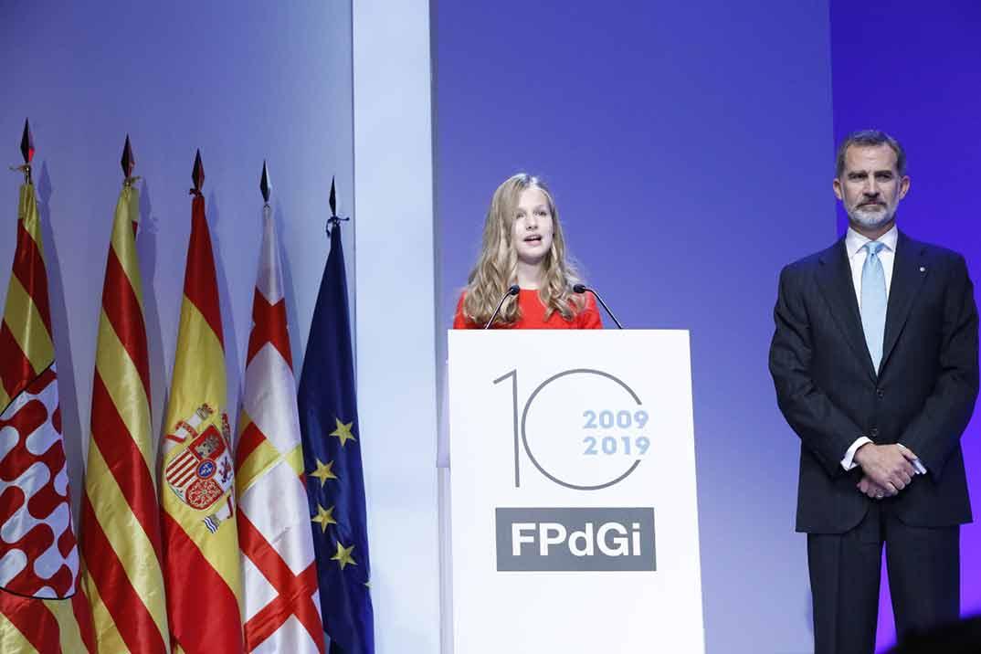 El debut de la Princesa Leonor en los Premios Princesa de Girona
