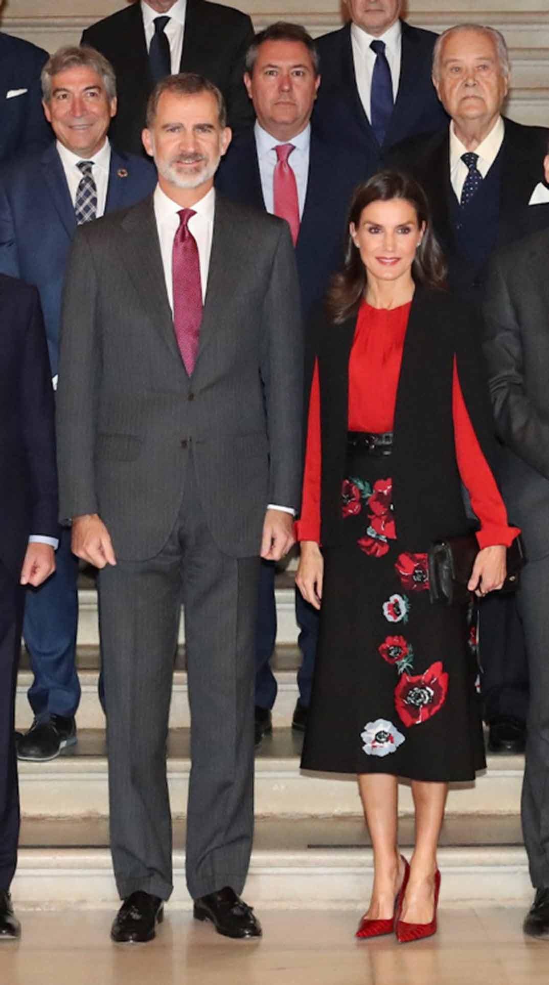 Reyes Felipe y Letizia - XVI Congreso de la Asociación de Academias de la Lengua Española © Casa S.M. El Rey