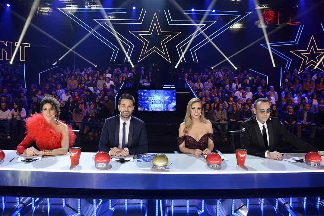Jurado - Got Talent Final © Mediaset