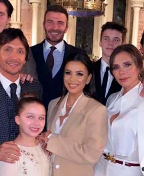 David y Victoria Beckham bautizan a sus hijos Cruz y Harper