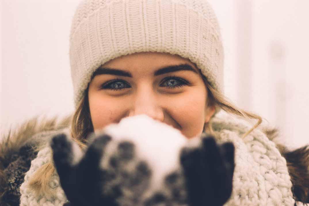 Cómo poner buena cara al frío