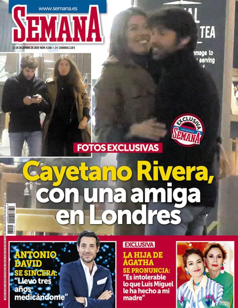 Cayetano Rivera con una amiga - Revista Semana