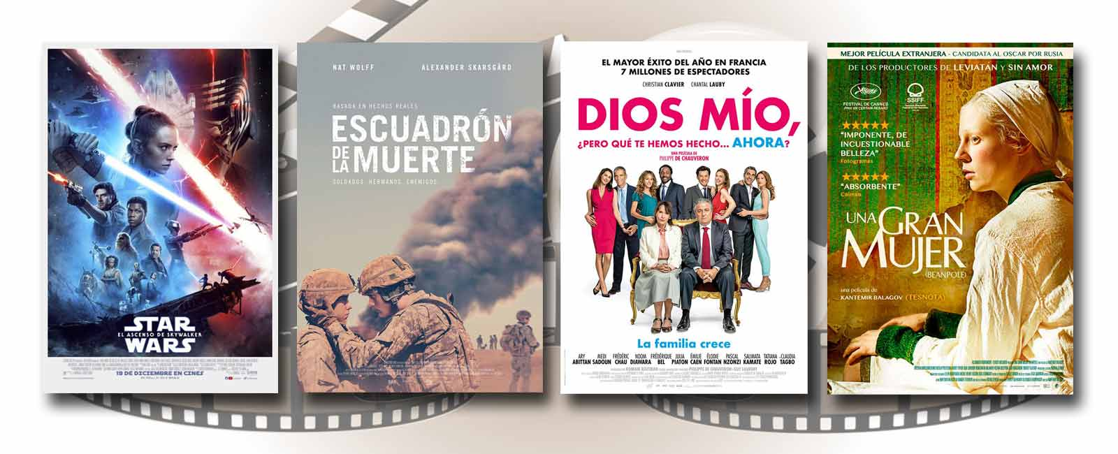 Estrenos de Cine de la Semana… 20 de Diciembre 2019