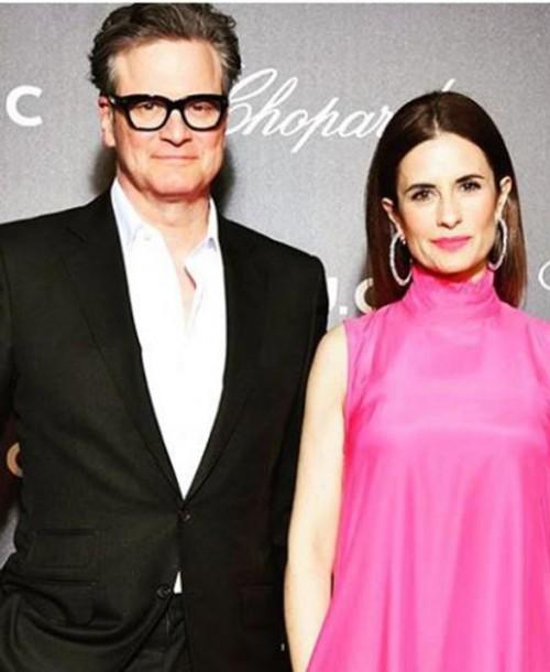 Colin Firth y su esposa Livia se separan después de 22 años de matrimonio