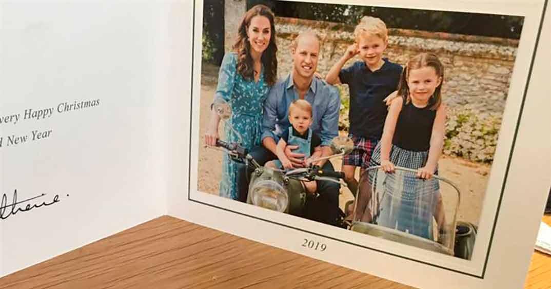 Duques de Cambridge Chritsmas 2019 © Redes Sociales