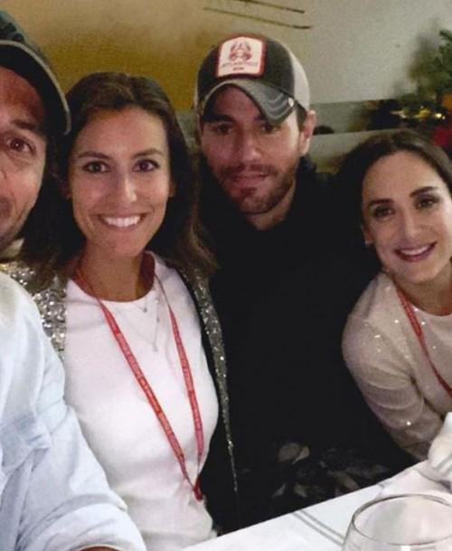 Isabel Preysler y sus hijas Tamara Falcó y Ana Boyer, fans número uno de Enrique Iglesias