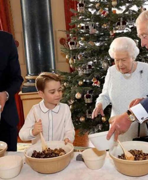 El príncipe George, un pequeño chef en palacio