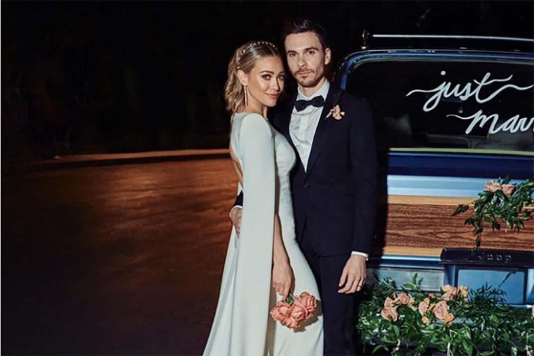 Hilary Duff se casa con el cantante Matthew Koma