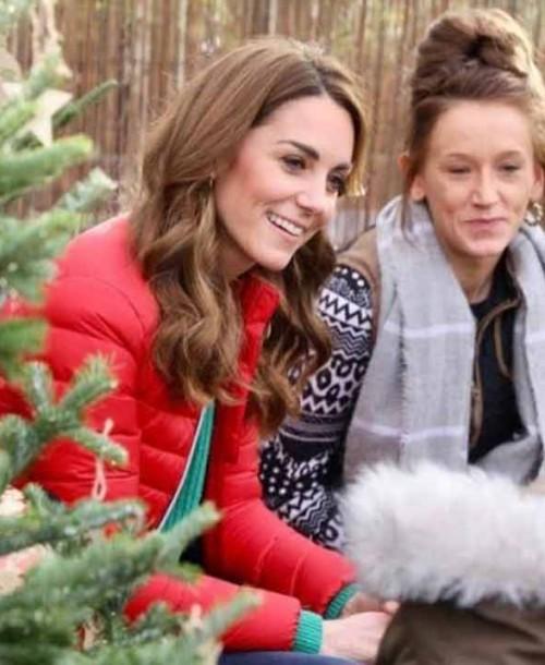 Kate Middleton nos dice cómo tiene que ser un árbol de Navidad