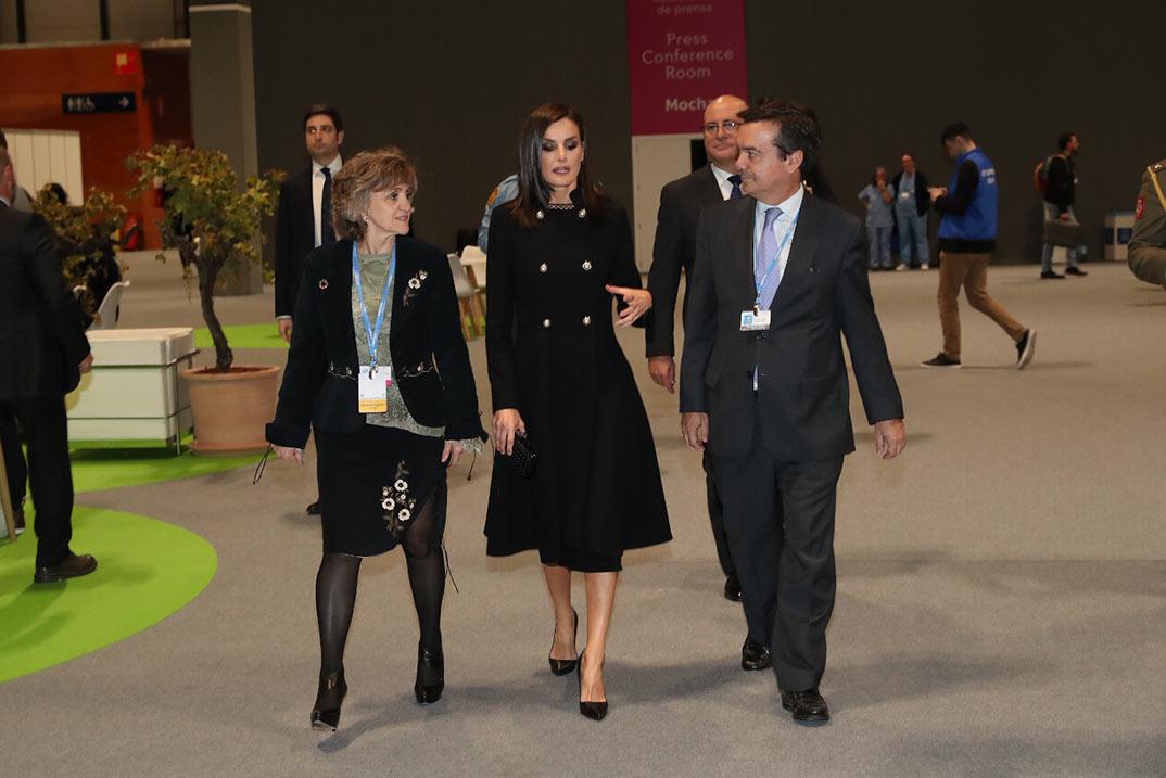 Reina Letizia - Conferencia Cambio Climático  © Casa S.M. El Rey