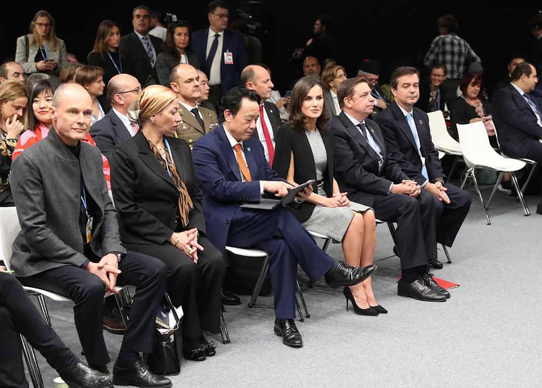La Reina Letizia en el evento sobre el OBJETIVO 12 sobre desarrollo sostenible © Casa S.M. El Rey