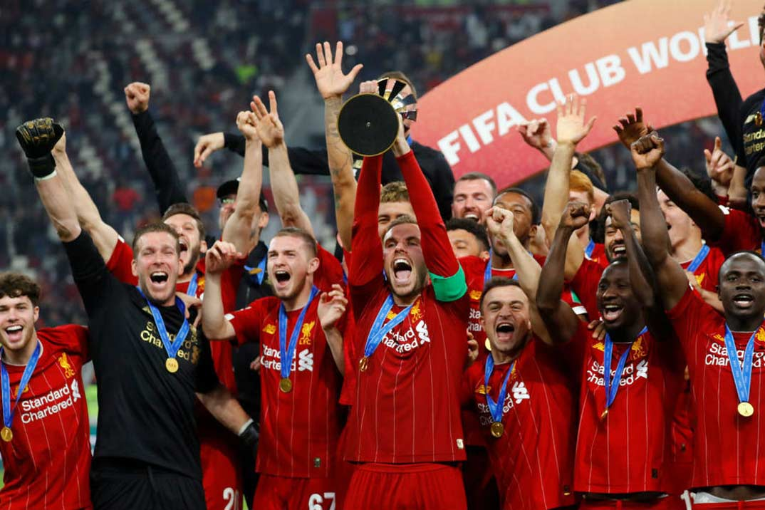 El gran momento del Liverpool