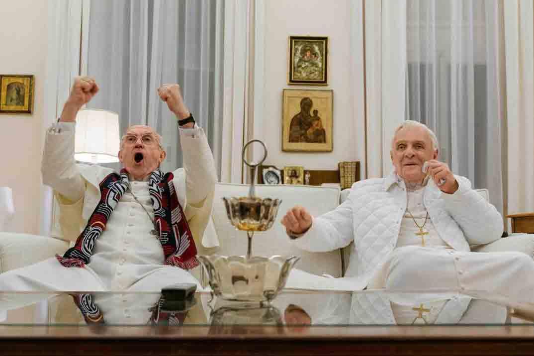 «Los dos Papas» – Hoy estreno en Netflix. No te pierdas el tráiler