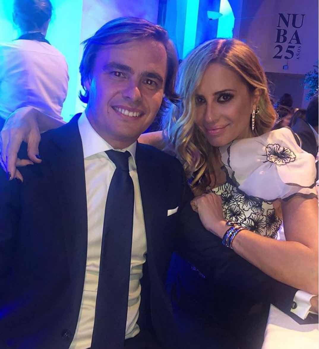 Marta Sánchez y Federico León © Instagram
