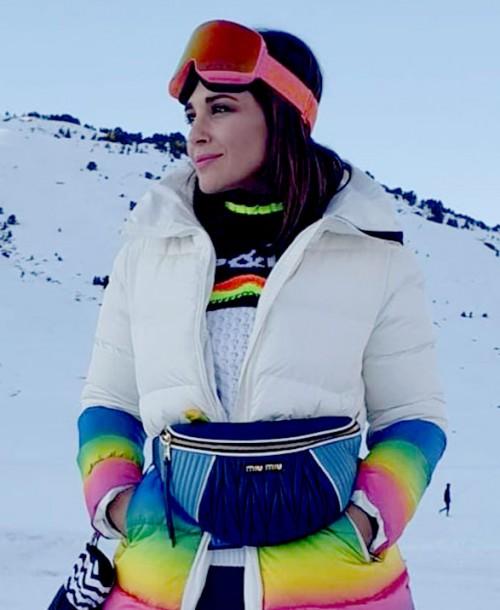 Los mejores looks de Paula Echevarría en la nieve