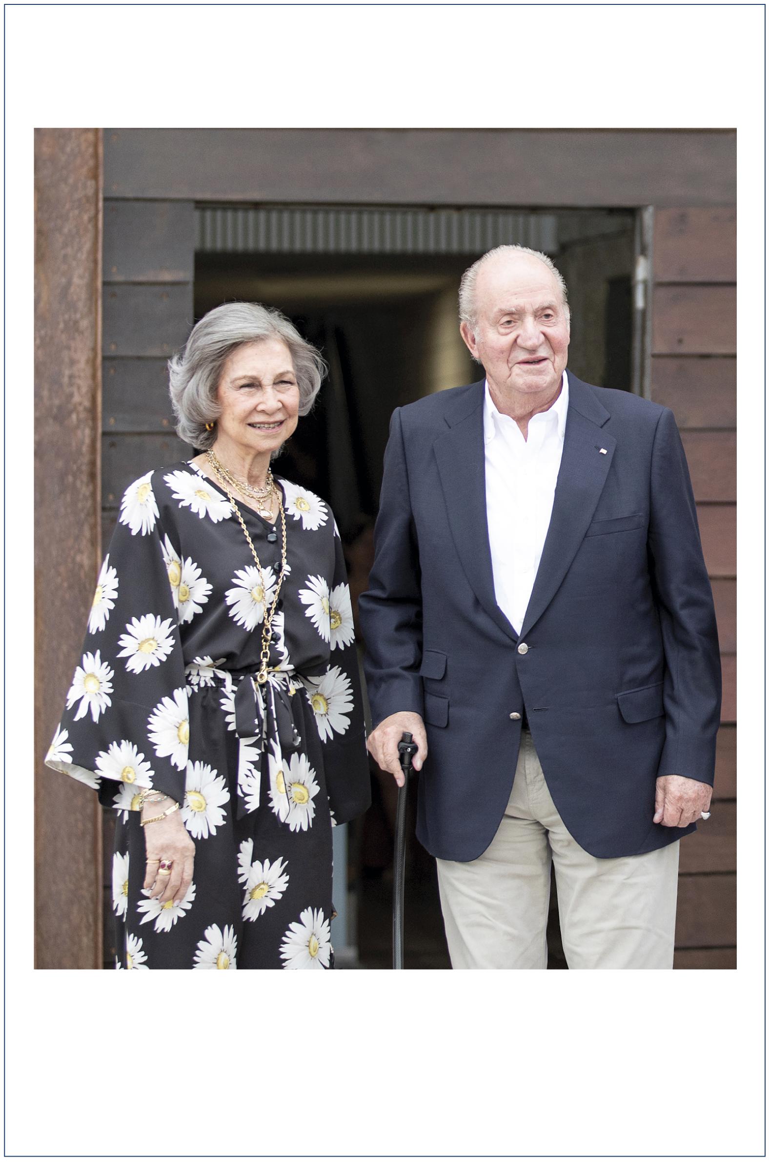 Chritsmas Reyes Juan Carlos y Sofía© Casa S.M. El Rey