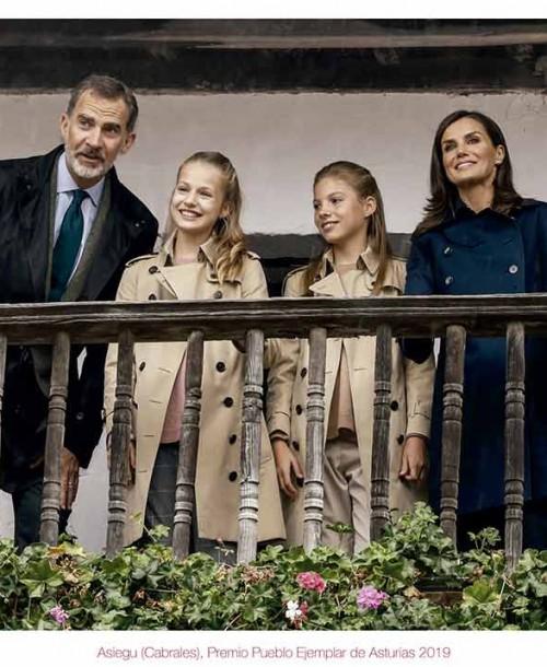 La princesa Leonor y la infanta Sofía protagonistas del Christmas de la Familia Real