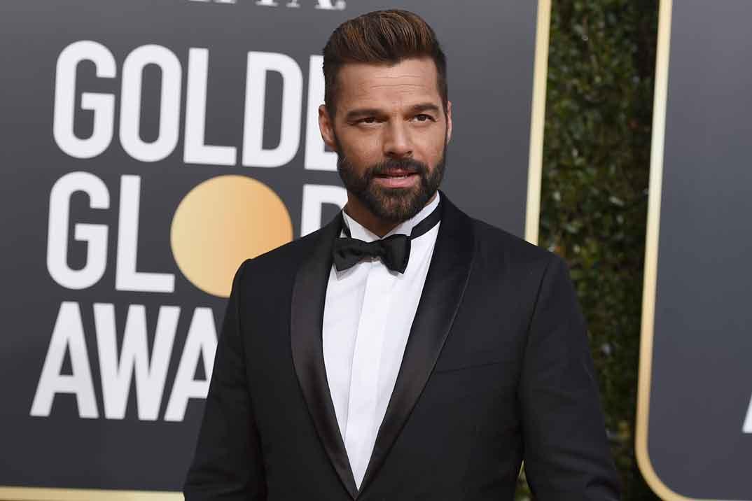 Ricky Martin presume de su pequeña Lucía
