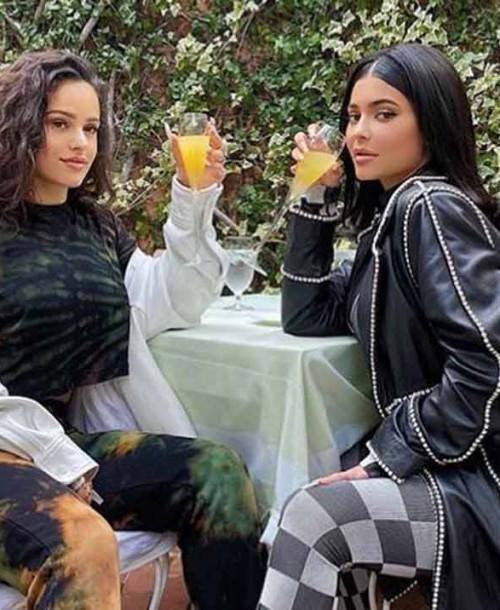 La foto de Rosalía y Kylie Jenner que se ha hecho viral