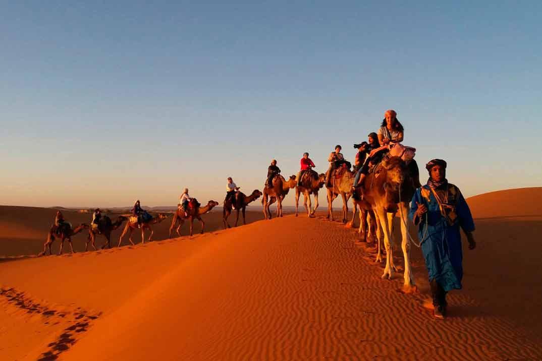 Marrakech-desierto