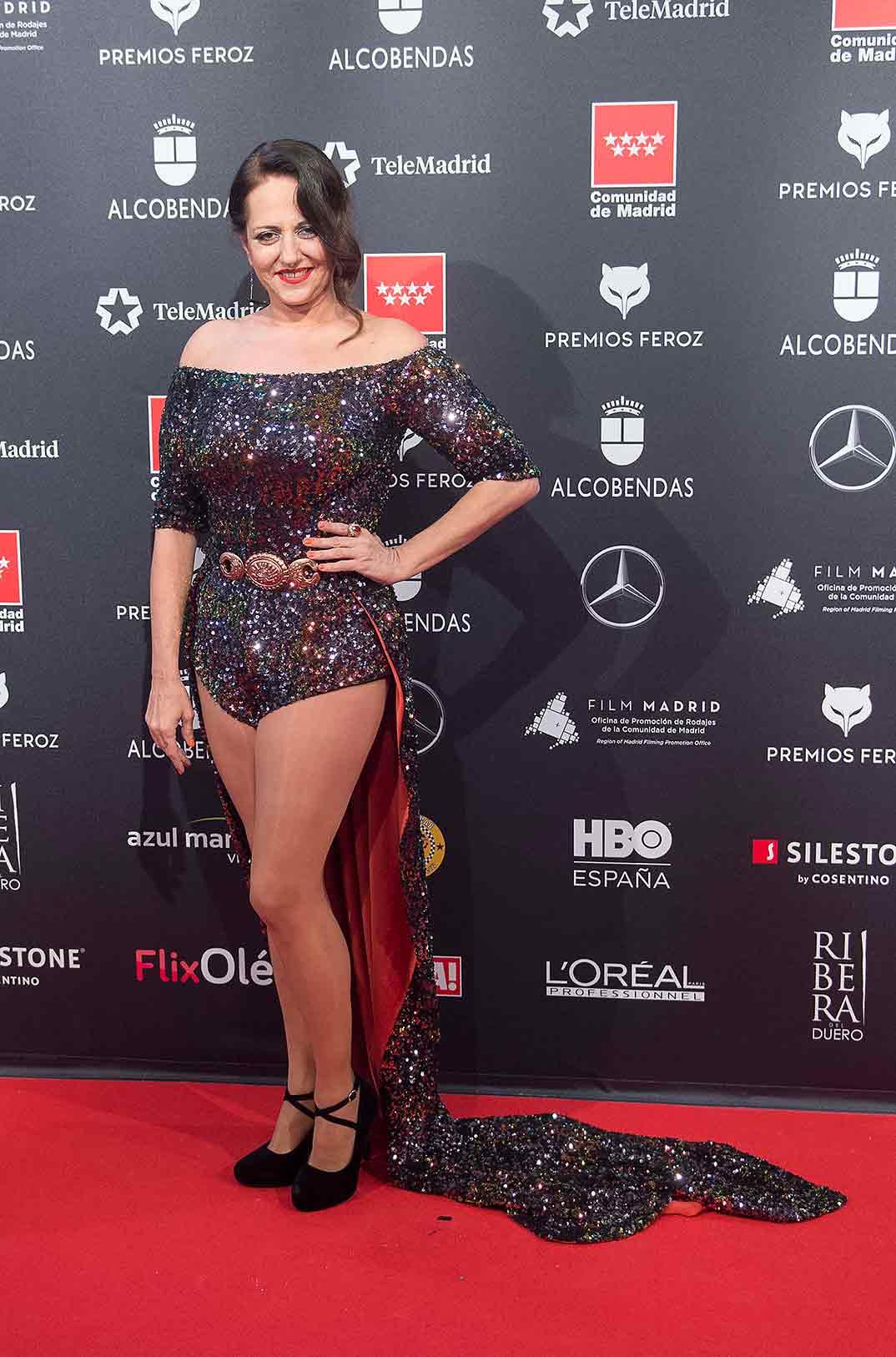Yolanda Ramos - Premios Feroz 2020