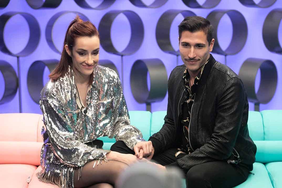 Adara Molinero y Gianmarco Onestini - El tiempo de descuento © Mediaset