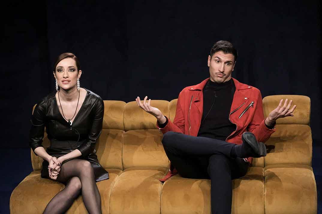 Adara Molinero y Gianmarco Onestini - El tiempo del descuento © Mediaset