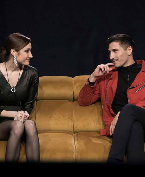 Así ha sido el tenso reencuentro de Adara Molinero y Gianmarco Onestini