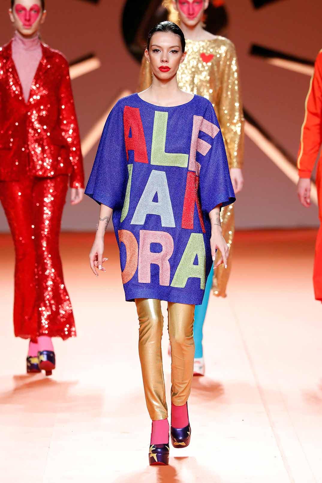 Alejandra Rubio - Agatha Ruiz de la Prada - Fashion Week Madrid Otoño-Invierno 2020-2021