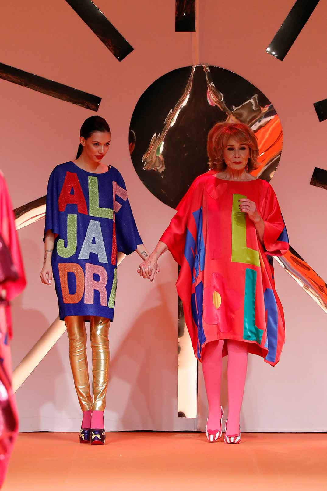 Alejandra Rubio y Mila Ximénez - Agatha Ruiz de la Prada - Fashion Week Madrid Otoño-Invierno 2020-2021