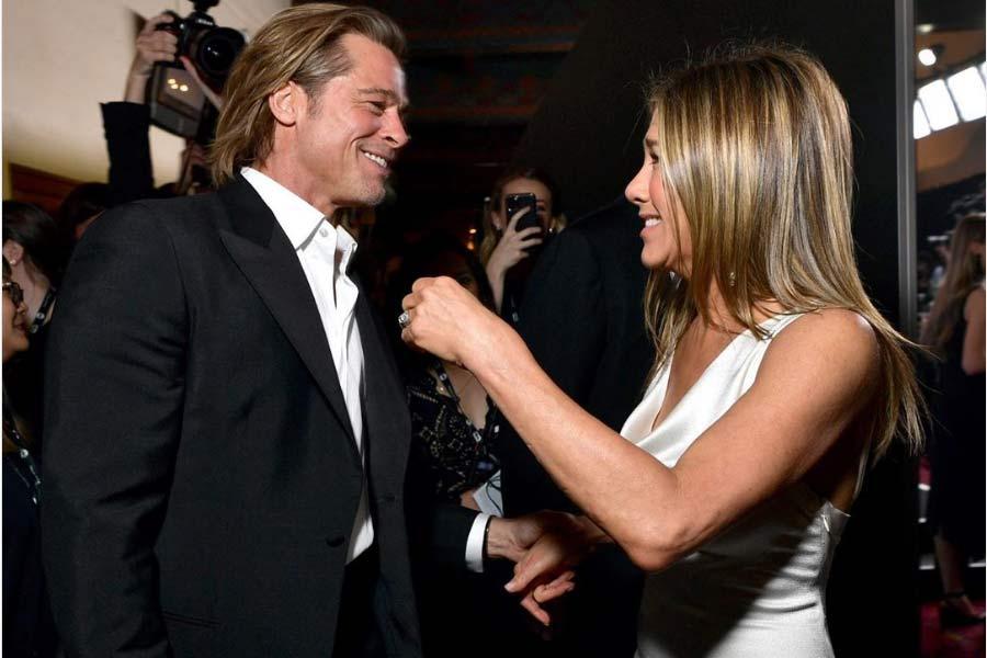 ¡Por fin! El reencuentro de Brad Pitt y Jennifer Aniston en los Premios SAG