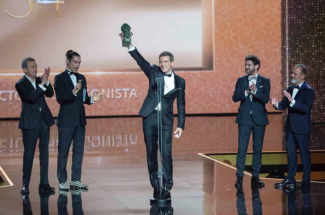 Antonio Banderas - Dolor y Gloria - Premios Goya 2020