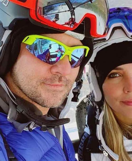 Las vacaciones más divertidas de David Bisbal con su familia en la nieve