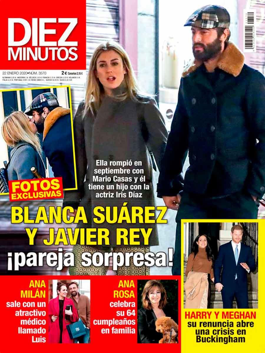 Javier Rey y Blanca Suárez - Revista Diez Minutos