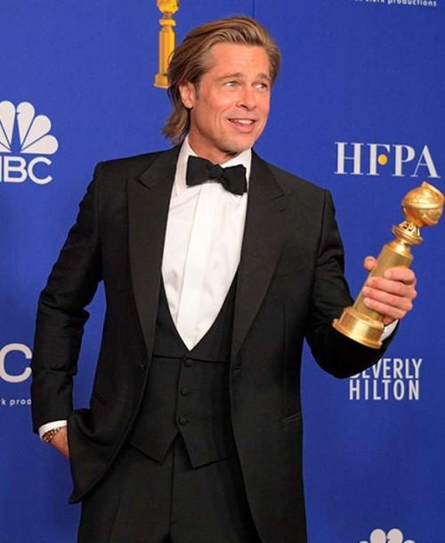 Lo mejor del discurso de Brad Pitt en los Globos de Oro 2020: la cara de Jennifer Aniston