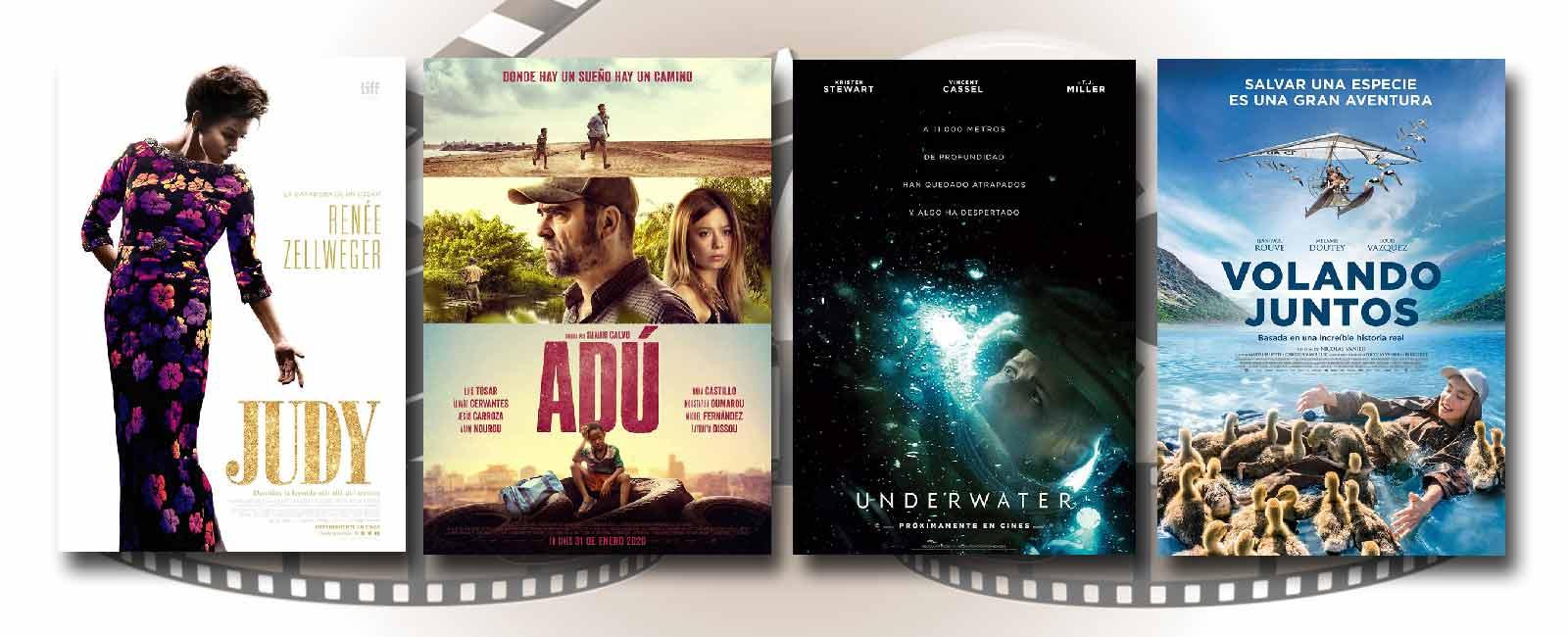 Estrenos de Cine de la Semana… 31 de Enero 2020