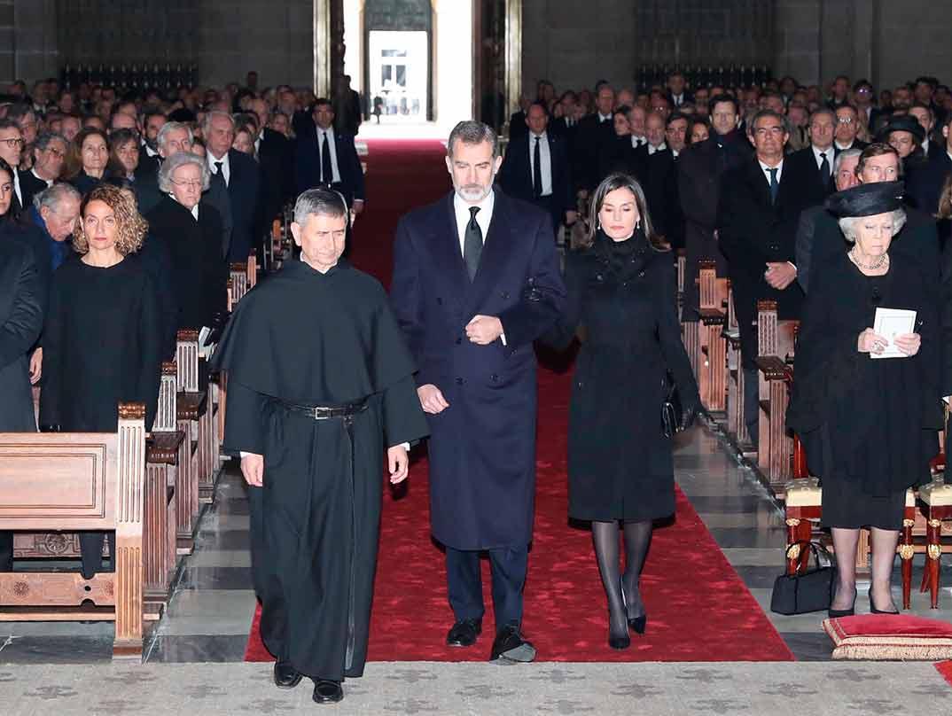 Misa Funeral Infanta Pilar © Casa S.M. El Rey