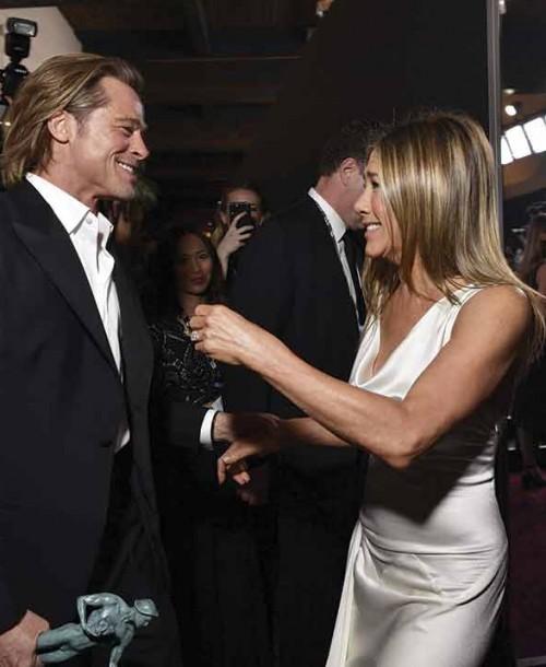 Las primeras palabras de Jennifer Aniston tras su reencuentro con Brad Pitt
