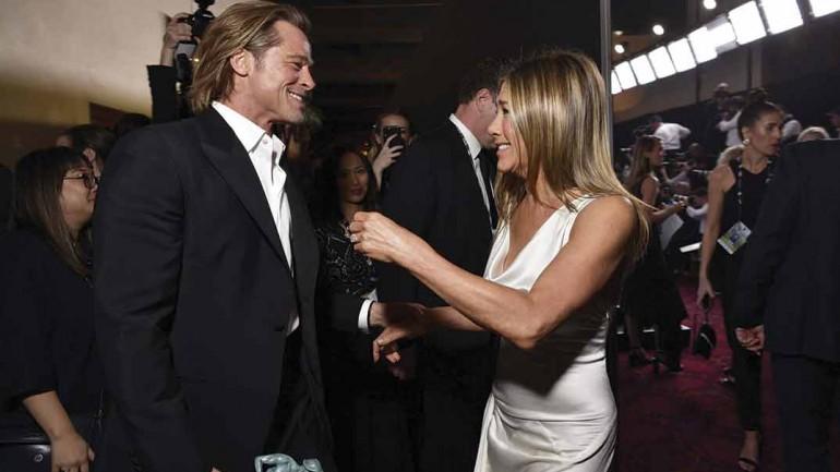 Brad Pitt Jennifer Aniston © Getty/SAG Awards