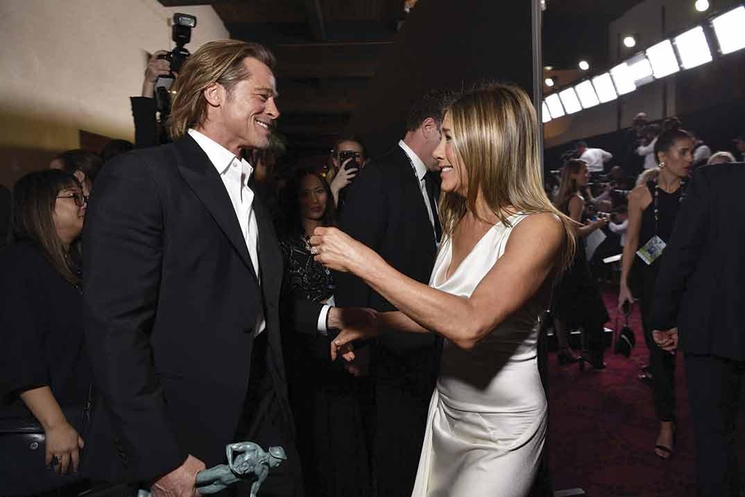 Brad Pitt y Jennifer Aniston revolucionan las redes con su último reencuentro