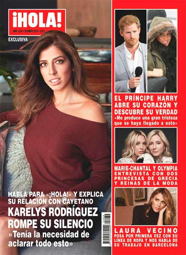 Karelys Rodríguez - Revista Hola